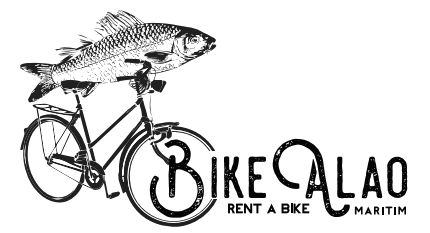 The Bikealao bike rental logo